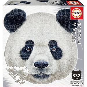 Пазл  Голова панды, 353 элемента Educa