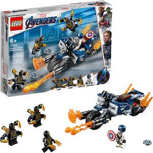 Капитан Америка: Атака Аутрайдеров Super Heroes 76123 (10) LEGO