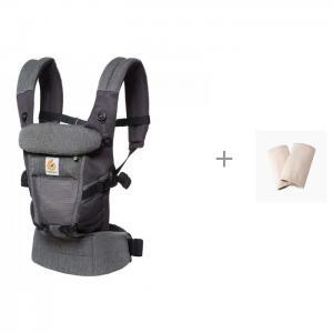 Рюкзак-кенгуру  Adapt Cool Air Mesh c накладками На Лямки Natural ErgoBaby