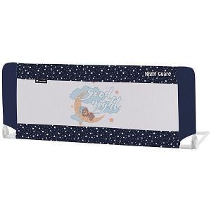 Защитный барьер для кроватки  Night Guard, синий Lorelli