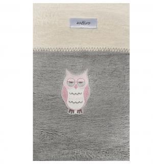 Одеяло Owl 100 х 75 см, цвет: серый Womar