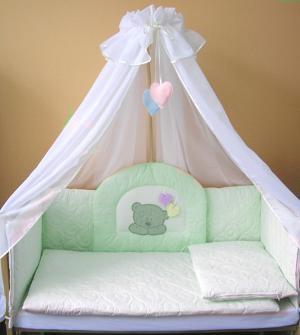 Комплект в кроватку  Тедди (7 предметов) Балу