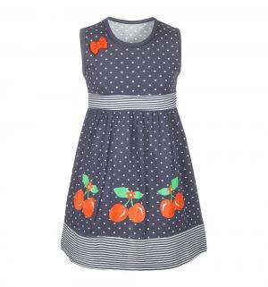 Платье , цвет: т.синий M&D