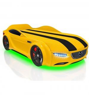 Кровать-машина  Junior Cx5, цвет: желтый Romack
