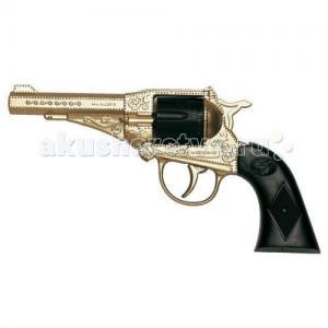 Игрушечный Пистолет Орегон золотой 21,5 см Edison