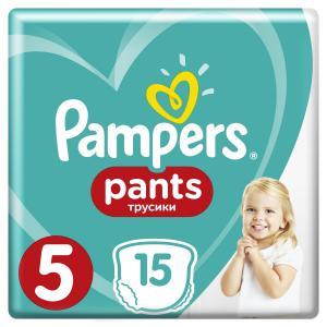Трусики  Pants 3 размер (12-17 кг) 15 шт. Pampers