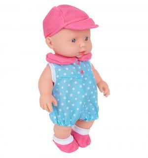 Кукла  голубой костюм 24 см S+S Toys