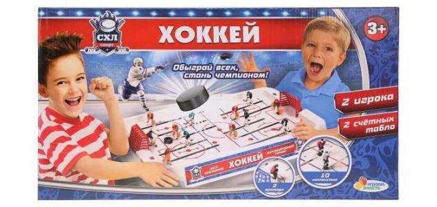 Настольная игра Хоккей Играем вместе