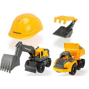 Набор  Construction Volvo Dickie Toys