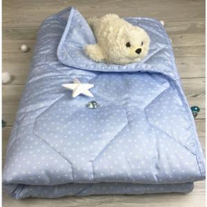 Одеяло  Premium Сердечки 145х205 см Soni Kids