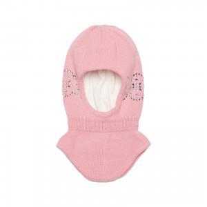 Шапка для девочки Junior Republic. Цвет: розовый