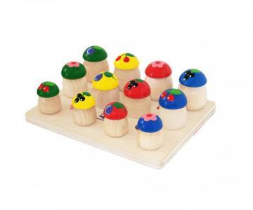 Деревянная игрушка  Грибочки Краснокамская