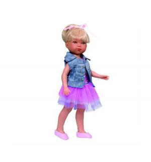 Кукла  Карлотта Балерина Блондинка 28 см Vestida de Azul