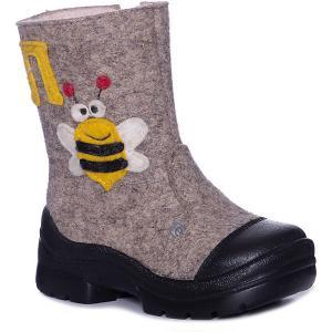 Валенки  Пчелка Филипок. Цвет: бежевый