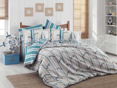Постельное белье  1.5-спальное Marinella 160x240 см Hobby Home Collection