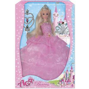 Кукла  Принцесса Ася, 28 см Toys Lab. Цвет: розовый