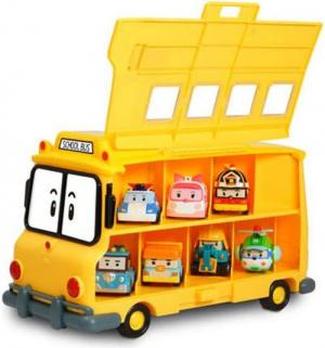Кейс для хранения машинок  Скулби Robocar Poli