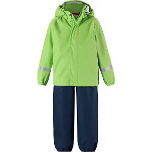 Комплект  Tihku: ветровка и брюки Reima. Цвет: зеленый