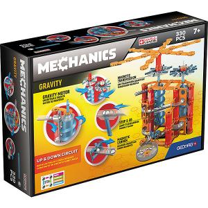 Магнитный конструктор  Mechanics Gravity, 330 деталей Geomag