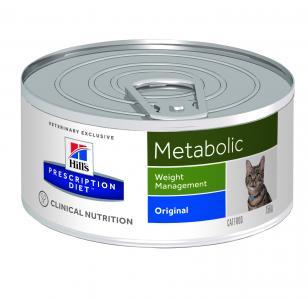 Влажный диетический корм Hills Prescription Diet Metabolic для взрослых кошек при ожирении и склонности к ожирению, 156г Hill's