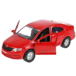 , Машина Skoda Rapid, красная, 12см Технопарк