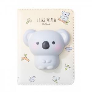 Блокнот со сквишем Коала I Like Koala А5 Mihi