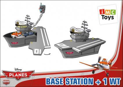 Игровой набор  Самолеты - Рация с базой IMC toys