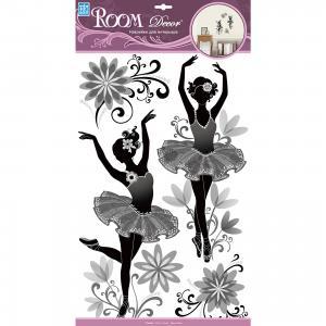 Наклейка Балерины RCA 9369, Room Decor