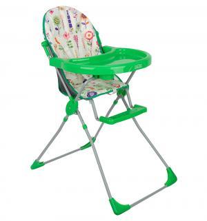 Стульчик для кормления  152, цвет: яркий луг/зеленый Selby