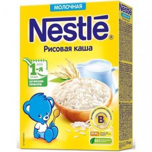 Каша  молочная Рисовая Моя 1-ая Каша.Начинаем прикорм с 4 месяцев 220 г Nestle