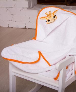 Полотенце уголок с вышивкой Жираф Мой Ангелочек