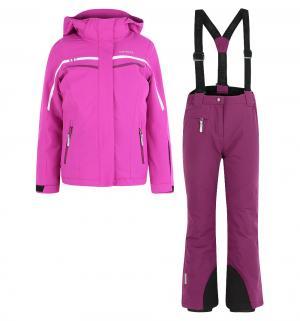 Комплект куртка/брюки  Helsa Jr, цвет: фиолетовый IcePeak