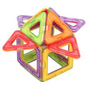 Магнитный конструктор  Магический магнит, салатово-фиолетовый Tongde
