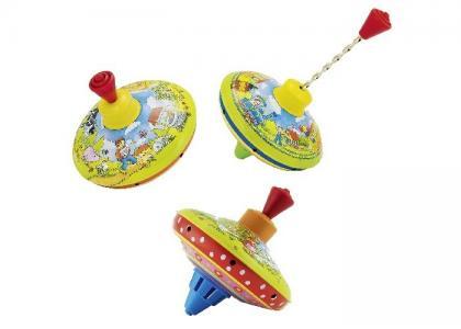 Развивающая игрушка  Юла маленькая Гуси Cause Goki