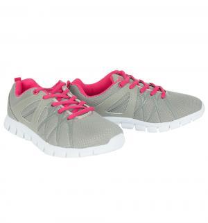 Кроссовки  Amber, цвет: розовый/серый Ascot