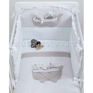 Комплект в кроватку  Coffee (3 предмета) Picci