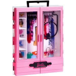 Игровой набор Barbie Розовый шкаф модницы Mattel