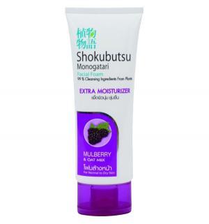 Пенка  Extra Moisture увлажнение и питание ежевика Shokobutsu, 100 гр Lion