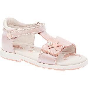 Сандалии  для девочки Betsy Princess. Цвет: розовый