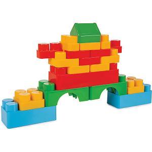 Конструктор  Jumbo Magic Blocks, 60 деталей Pilsan. Цвет: разноцветный