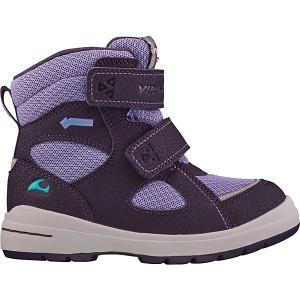 Утепленные ботинки Viking Ondur GTX. Цвет: фиолетовый