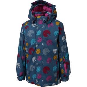 Утеплённая куртка Color Kids Donja. Цвет: серый