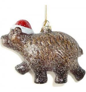 Елочное украшение  Мишка косолапый 13.5 см Новогодняя сказка