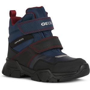 Ботинки Geox. Цвет: синий/красный