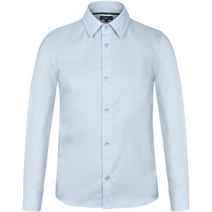 Рубашка  для мальчика Junior Republic. Цвет: голубой