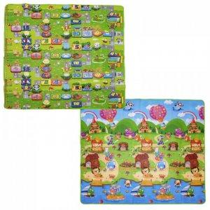 Игровой коврик  Забавный лабиринт и Деревенские истории 200х180х0.5 см BabyPol
