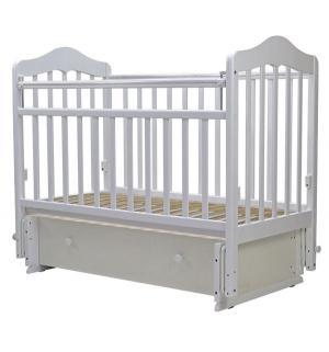 Кровать  Мальта-7, цвет: белый Топотушки