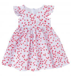 Платье , цвет: красный Flobaby