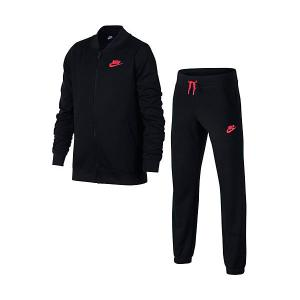 Спортивный костюм NIKE. Цвет: черный
