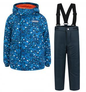 Комплект куртка/брюки  Лунный лед, цвет: синий Ma-Zi-Ma by Premont